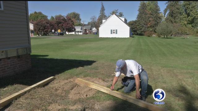 First responders help rebuild home for veteran in East Windsor (WFSB)