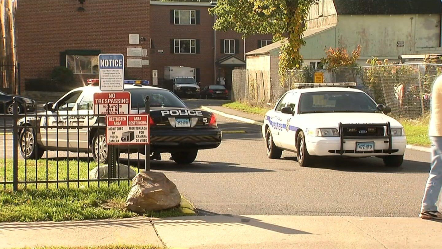 "Hartford police presence was on Annawan Street due to ""an external Law Enforcement investigation.""  (WFSB)"