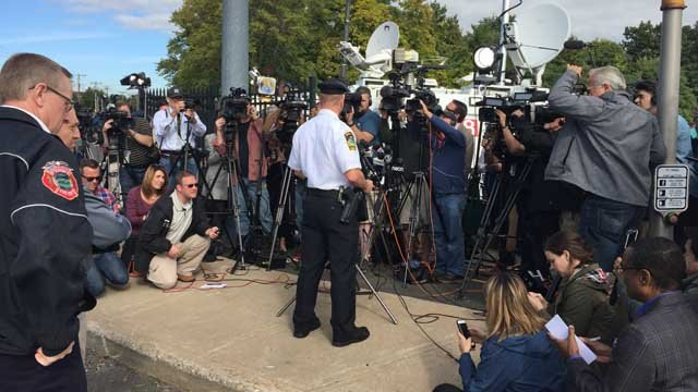 East Hartford police held a news conference at 11 a.m. (WFSB photo)