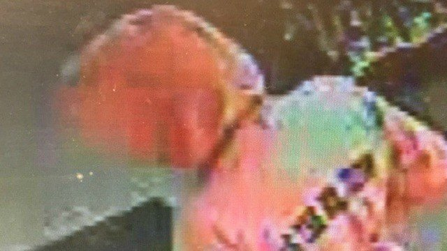 Police in Plainfield are looking for a man who robbed a Valero gas station (State police photo)