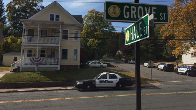Police are on scene of armed robbery in Vernon on Monday morning. (WFSB)