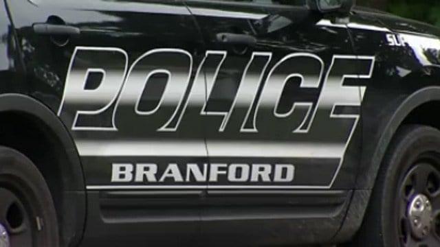 Branford police. (WFSB file photo)