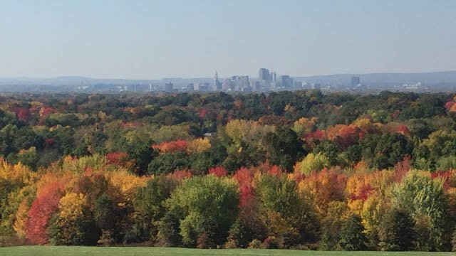 A look at Hartford from Wickham Park. (WFSB photo)