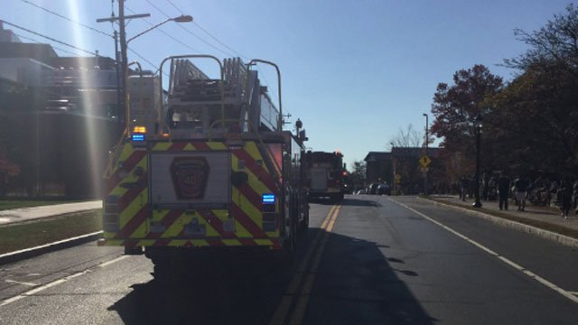 Firefighters from Tolland and other towns called to fire at University of Connecticut (@TollandAlert)