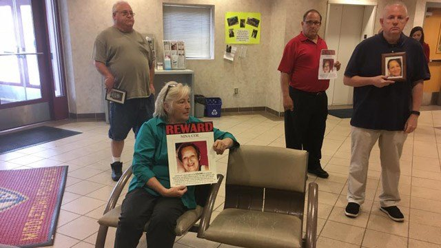 Family members demanded police do more to find Nina Coe of Middletown. (WFSB photo)