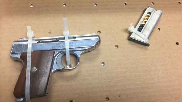 This gun was seized by police. (Hartford Police Department)