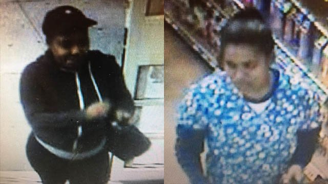 Two women snatched more than $1,300 worth of items from Stop & Shop in Clinton, police said. (Clinton police photo)