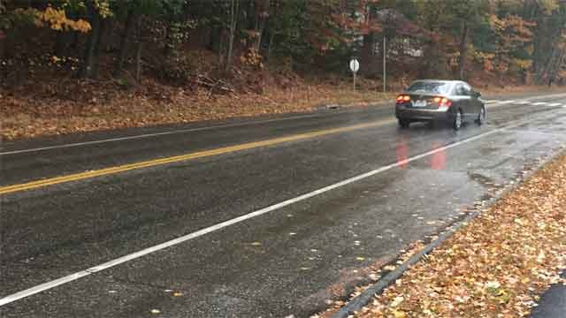 Two pedestrians were injured after being struck by a motor vehicle in Mansfield on Friday afternoon. (WFSB)