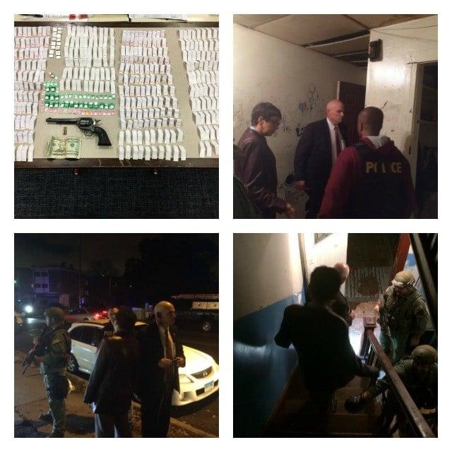 Hartford PD Arrest 8 in Drug Sting