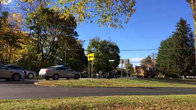 Serious injuries were reported in a crash involving multiple motorcycles (WFSB)