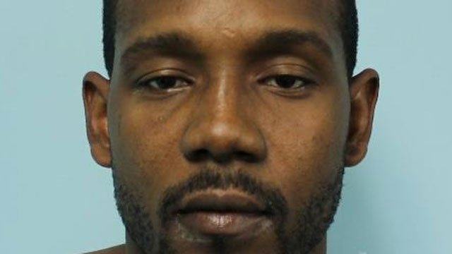 Dereck J. Dent was arrested after police said he got out of his car naked and started jumping and dancing in the street after striking a curb and getting a flat. (Sprinfield Police Department)