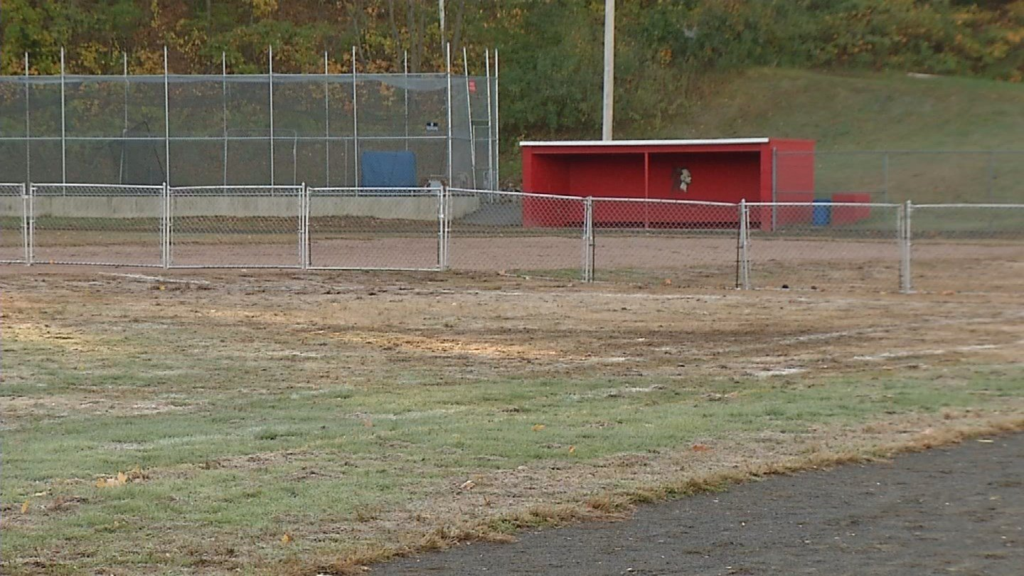 Derby is looking to relocate its high school's baseball field. (WFSB photo)