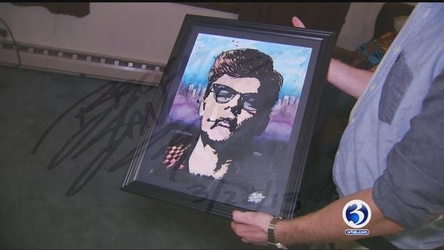 Plymouth resident Brock Sanford, 17, of sent a portrait he drew of the Dalai Lama to him. (WFSB)