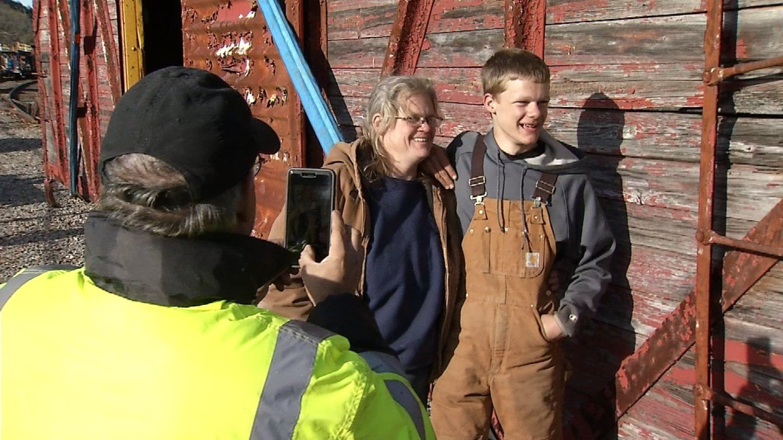 One Connecticut teen restores train boxcar. (WFSB)