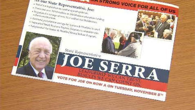 State Rep. Joseph Serra is up for re-election this year (WFSB)
