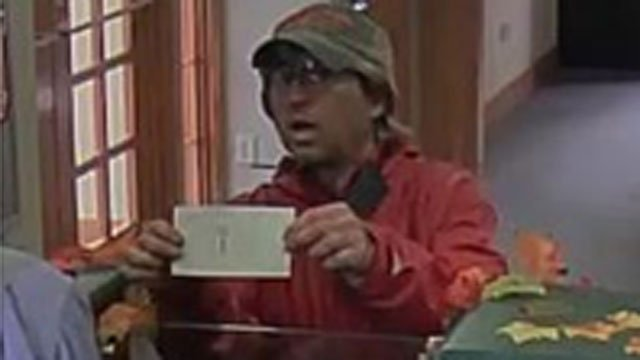 Police are searching for this man in connection with a bank robbery. (Wethersfield Police Department)