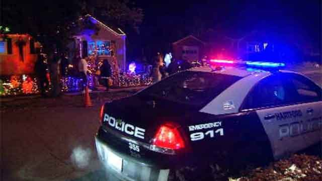 Police stepped up patrols on Halloween to make sure everyone was safe (WFSB)