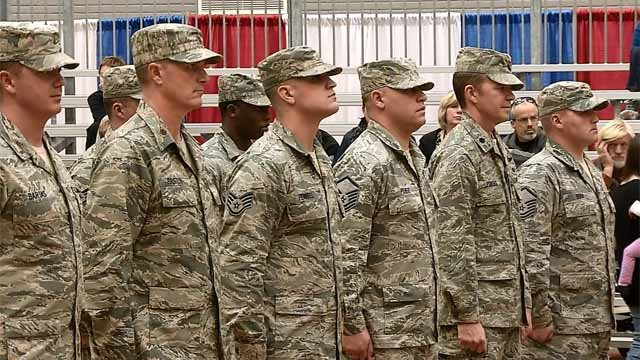 100 National Guard members are headed overseas later this month (WFSB)