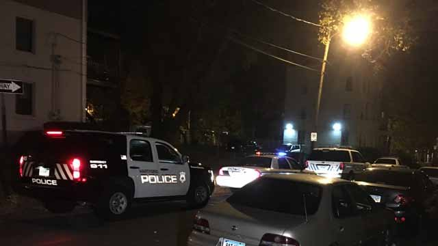 Police are investigating three overdoses that happened at a home on Green Street (WFSB)