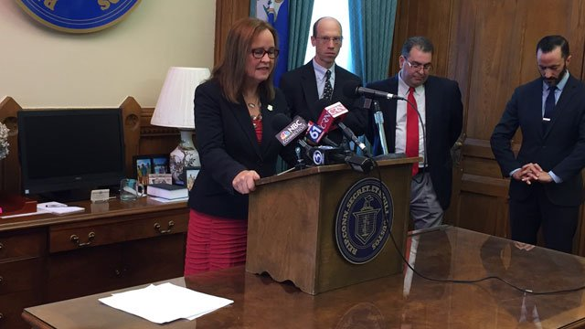 Secretary of the State Denise Merrill says Connecticut poll workers will be more prepared than in past years. (WFSB)