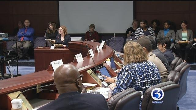 Hearing held in Hartford on Wednesday (WFSB)