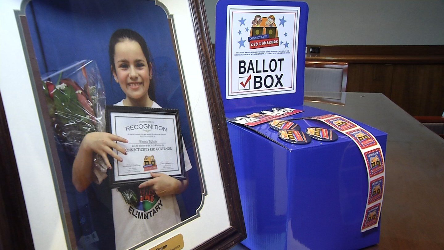 The Connecticut kid governor election starts next week. (WFSB)