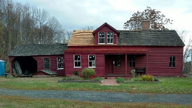 The Derrin House after repairs. (Avon Historical Society photo)