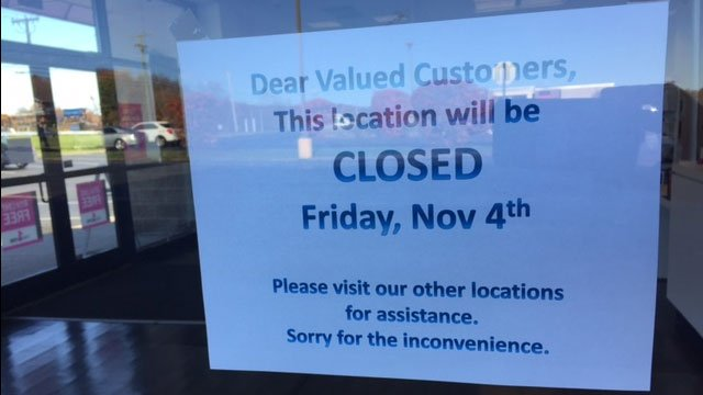 T-Mobile in Newington was closed on Friday after an armed robbery. (WFSB)