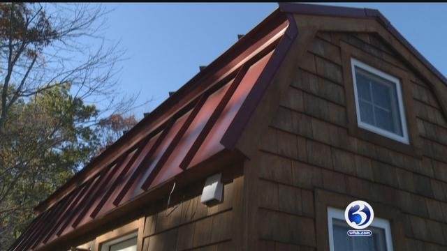 People across the country are falling in love with tiny houses, including in Connecticut. (WFSB)