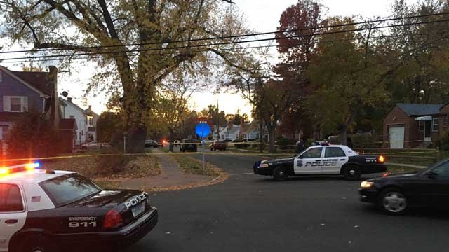 Police are investigating a shooting that happened on Branford Street on Sunday. (WFSB)