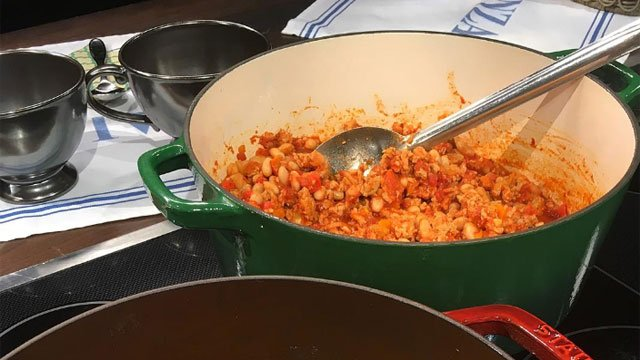 ngela Baldanza from Baldanza's Café stopped by the studio Saturday morning to share an amazing Turkey Chili recipe with us. (WFSB)