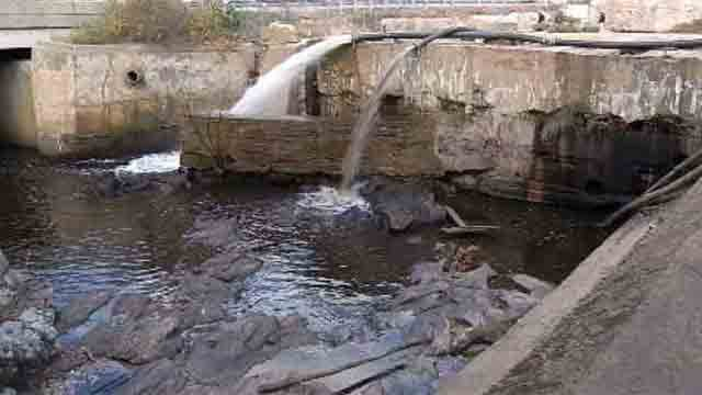 The old Norton Mill Dam is going away, for good. (WFSB)