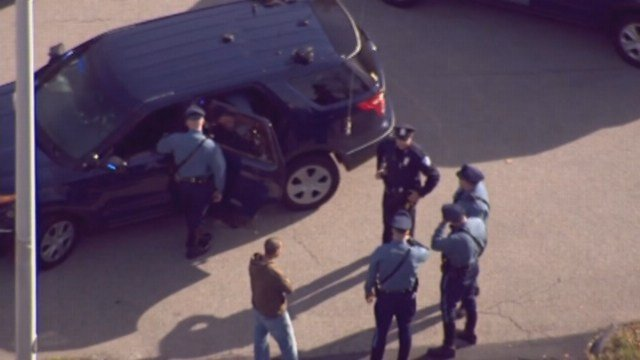 Carjacking suspects fled into Massachusetts after stealing a vehicle in Putnam and Thompson, CT. (CNN photo)