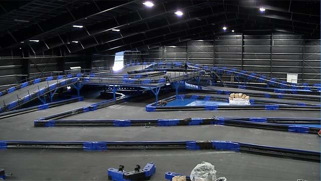 A new go-kart track is being built in Montville. (WFSB)