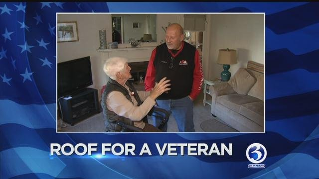Connecticut veteran gets new roof. (WFSB)