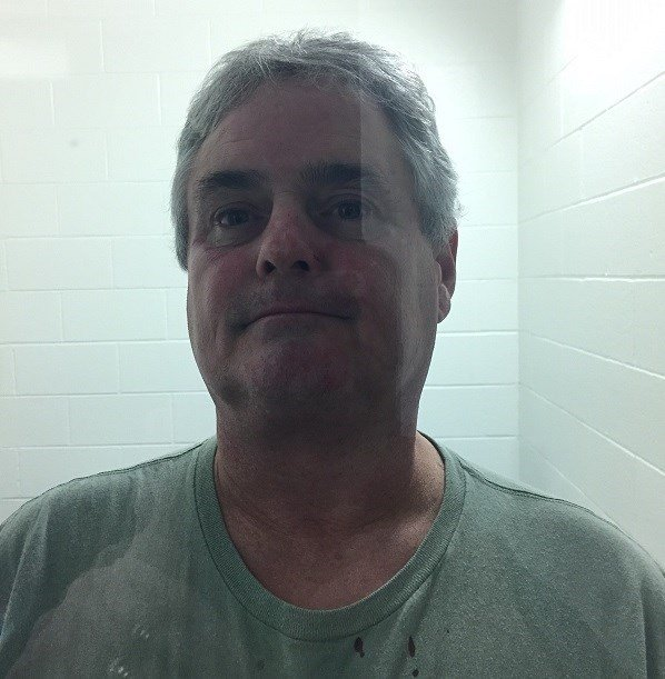 Douglas Dahlberg, arrested for breach of peace after a fight in a restaurant.  (Courtesy Old Saybrook Police Dept.)
