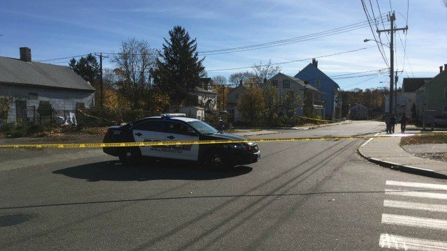 Officials are investigating a homicide on Pulaski Street. (WFSB)