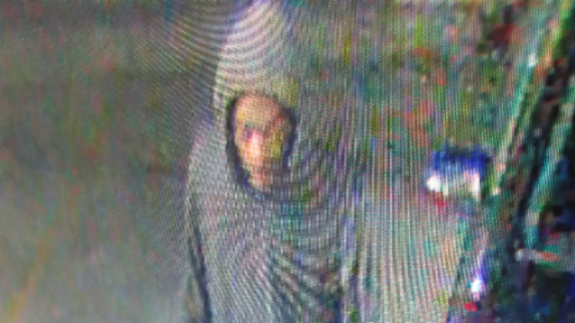 Norwalk police are looking for a man who broke into two cars in October. (Norwalk PD)