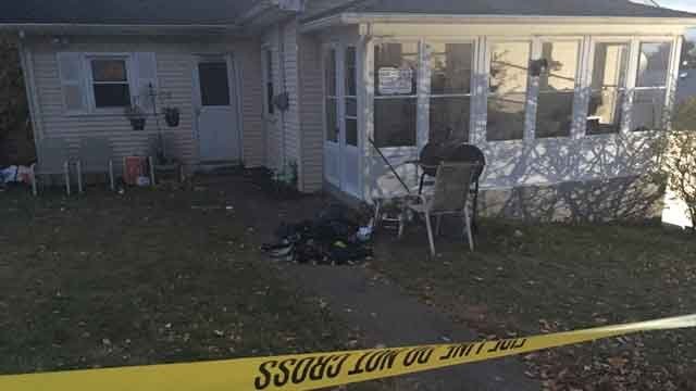 A 9-year-old boy was killed in a house fire in Meriden on Monday (WFSB)