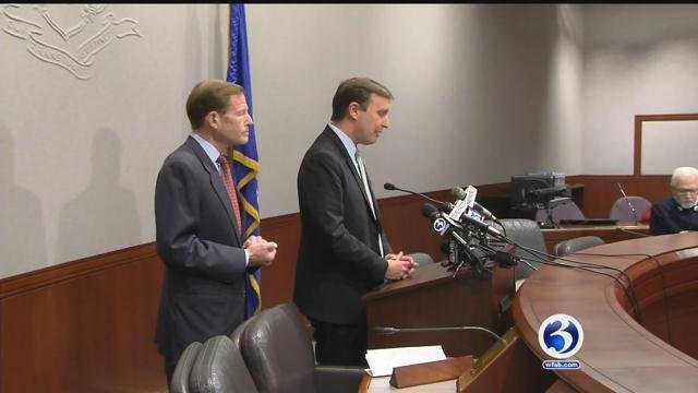 Sens. Richard Blumenthal and Chris Murphy said they'll attend President-elect Donald Trump's inauguration out of respect for the peaceful transition of power. (WFSB File photo)