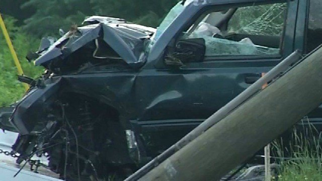 According to Vernon police, illegal drugs played a role in this crash in July (WFSB)