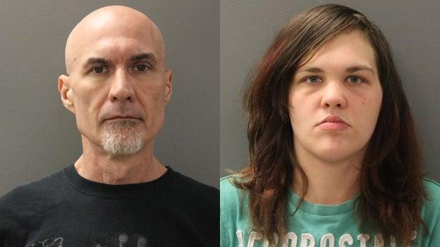 Dante Fanchi and Anjelica McLaughlin. (Hamden police photos)