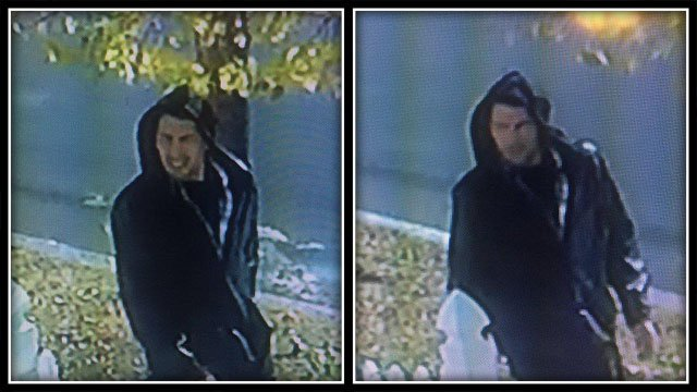 Vernon police said this man stole a package off a woman's doorstep (Vernon Police)