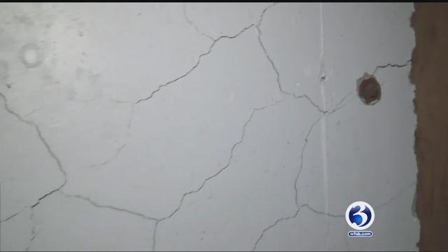 Crumbling concrete renders Vernon couple's condo virtually worthless (WFSB)