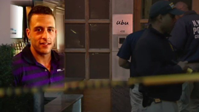 Joseph Comunale is believed to have been stabbed to death at an apartment in New York City Saturday. (WCBS photo)