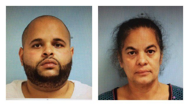 Willimantic police said Milton Castro, 36, and Daisy Montanez, 52, of Willimantic, were arrested and charged with conspiracy to possess narcotics, conspiracy to sell narcotics and risk of injury to a minor. (Willimantic PD)