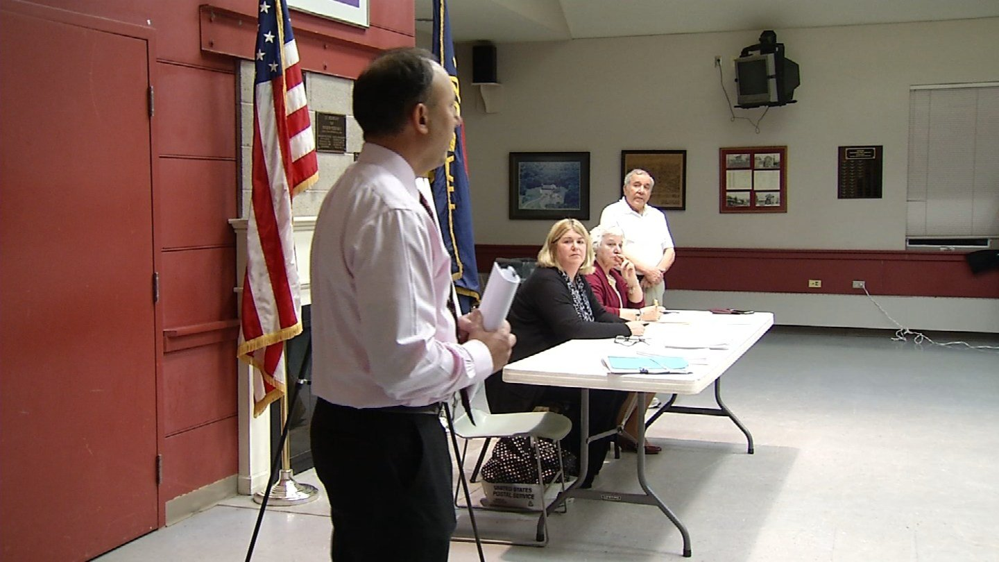 Residents voted nearly unanimously to build cell towers at three sites in Haddam. (WFSB photo)