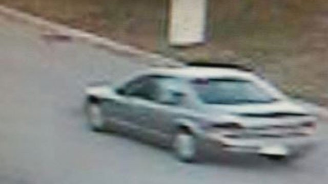 Police are searching for this vehicle in connection with a hit-and-run crash. (CT State Police)