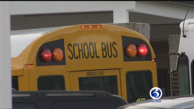 The pre-schooler was left alone on a bus for more than an hour after school was let out. (WFSB)