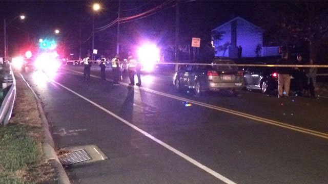 Two children were struck by a motor vehicle on New Britain Avenue in Rocky Hill. (WFSB)